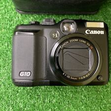 Canon PowerShot G10 14.7MP Digital Camera Black