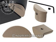 for Glock 43 G43 Aluminum Grip Frame Slug Plug Flat Dark Earth FDE Gun Kote