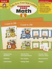 Take It to Your Seat Common Core Math Centers, Grade K (Take It to Your Seat Mat