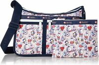 LeSportsac BT21 Multi Deluxe Everyday Crossbody Bag, LeSportsac Logo Strap NWT