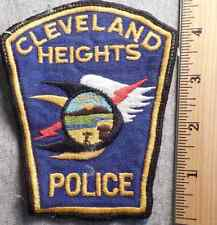 CLEVELAND HEIGHTS OHIO POLICE PATCH (HIGHWAY PATROL, SHERIFF, EMS)