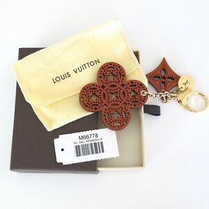 RARE AUTH LOUIS VUITTON ARABESQUE  BAG CHARM KEY RING HOLDER BNIB M66778