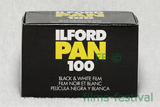 15 rolls ILFORD PAN 100 35mm 36exp B&W Film 135-36 FREESHIP