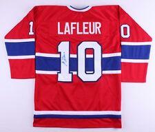 Guy Lafleur Signed Canadiens Hockey Jersey (JSA COA)