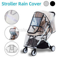 Transparent Universal Stroller Rain & Wind Cover For Pet Bugg Bab