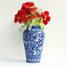 Marvelous Blue Pottery Flower vase