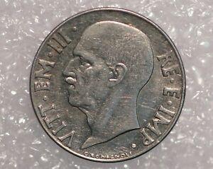 Italy 20 Centesimi 1940 Vittorio Emanuele III