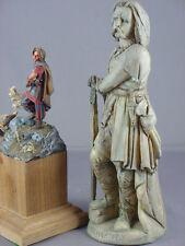 Large figure model Celt warrior Gallic Celtic Vercingetorix Gual statue France