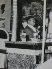 Photo de presse vintage AFP attentat dans un café de Bruxelles  1963