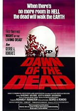 Dawn of the Dead - George A Romero - A4 Laminated Mini Movie Poster