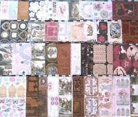 Kanban die cut everyday topper sheets - lucky dip bargain, card craft, job lot