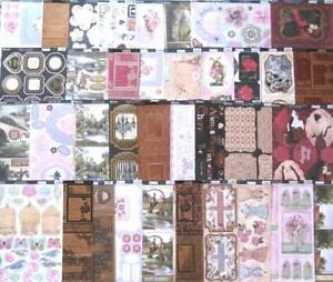 Kanban die cut everyday topper sheets - lucky dip bargain, card craft, job lot
