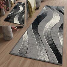 Teppich Läufer Meterware Flur Modern Wellen Wohnzimmer Schlafzimmer ÖKOTEX