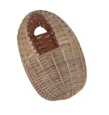 Large Hooded Bamboo Finch Nest, 6-Inch by 5-Inch