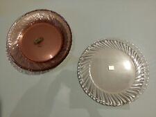 arcoroc rosaline 6 assiettes plates 23 cm