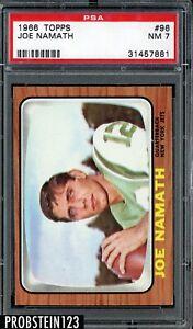 1966 Topps Football #96 Joe Namath New York Jets HOF PSA 7 NM