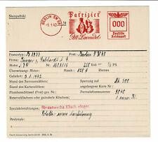 Tracht Biedermeier 1942 Patrizier Alt Lavendel AFS Archivkarte Unikat