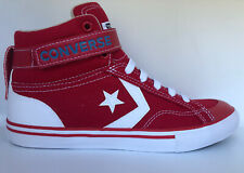 Converse Pro Blaze Strap Hi Red Junior Size 6 High Top New