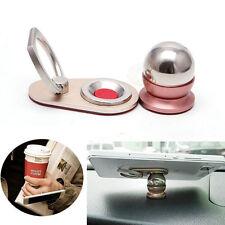 360° Rotation Magnetic Finger Ring Phone Holder Stand Grip Car Mount for Phones