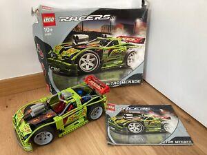 LEGO RACERS TECHNIC 8649 NITRO MENACE (BOITE + NOTICE)