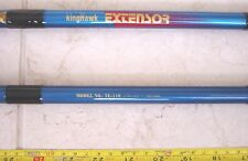 2 Rods Bundle- 4-sec 11' Tele-Pole -Freshwater & Saltwater -$16.99 Free shipping