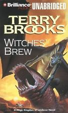 WITCHES' BREW unabridged audio CD by TERRY BROOKS - Brand New - 9 CDs 11 Hours!
