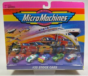 1995 #35 Stock Cars Monte Carlo Pontiac Thunderbird Galoob Micro Machines Rare