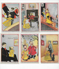 1896 Adams Gum Yellow kids E231 Large numbers almost set of 19 of 25