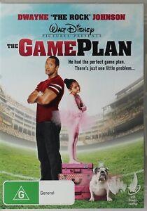 The Game Plan DVD - Dwayne Johnson - Ex Rental - Free Post