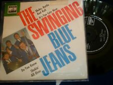 THE SWINGING BLUE JEANS - SHAKE, RATTLE AND ROLL EP - RARE DUTCH