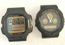 2 Seiko W358-4A10,H449-5 & Casio AW-20 Wristwatch Parts Only Not Working.