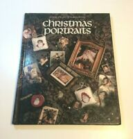Vintage 1991 Christmas Portraits Cross Stitch Patterns Book Three Hardcover
