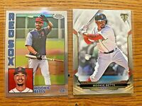 MOOKIE BETTS 2019 Topps Chrome 1984 Refractor #84TC-20 & Triple Threads #86