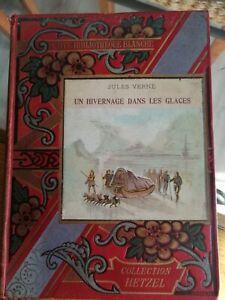 Rare Livre Ancien Jules Verne Un Hivernage Dans Les Glaces Hetzel