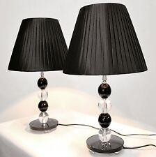 PAIR of NEW Bedside Table DESIGNER MODERN LAMPS
