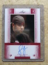 2011 Leaf Razor Poker SCOTT FISCHMAN Heart Red version /20