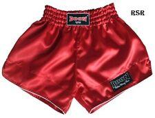 New Boon Sport Boxing Shorts Retro Red S M L Xl Xxl Muay Thai Shorts Mma K1