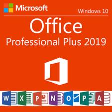 MS Office 2019 Pro Plus | Versión Completa | Clave de Producto Original