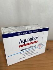 Aquaphor Healing Ointment travel/sample size .14 oz 4g Box Of 16. Exp 10/20.