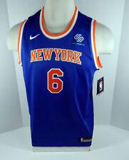 Youth New York Knicks Kristaps Porzingis #6 Blue Jersey Swingman Large Nike