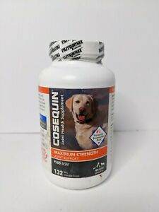 Cosequin Maximum Strength Joint Supplement Plus MSM for All Dogs 132 tabs 03/25