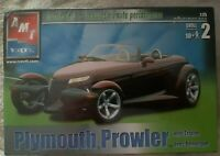 2002 AMT ERTL Plymouth Prowler 8588 With Trailer 1:25 Muscle Cars SEALED.