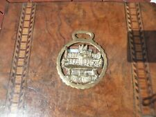 Antique Victorian Horse Brass of Chester Cathedral