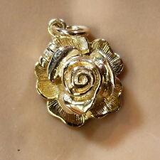9ct GOLD NUOVO mobili Coccinella Ciondolo in Rose