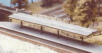 Ratio - 225 - N Gauge Flat Roof Platform Canopy With Valencing