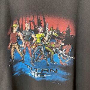 Vintage 2000 Titan A.E. T-shirt USA Single Stitch XL