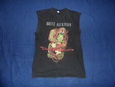 IRON MAIDEN Bruce Dickinson Tattooed Millionaire Dragon shirt size XL RARE