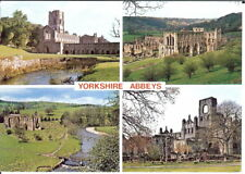 Yorkshire: Yorkshire Abbeys, Multi-view - Posted 1990