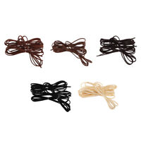 5pcs 1M Leather Cord Strings for Bracelet Necklace Beading Jewelry Making