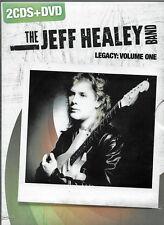 JEFF HEALEY BAND - LEGACY : VOLUME ONE - 2 CDS + DVD - ARBOR - 2008 - SEALED
